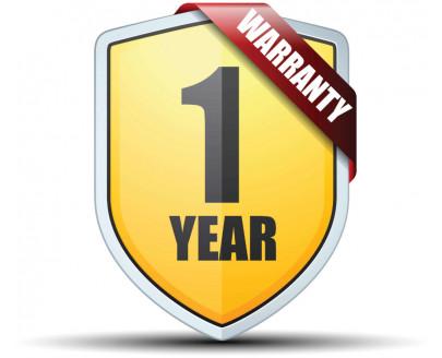 Гарантия на всю бытовую технику в нашем интернет-магазине составляет 1 год!