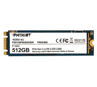 Накопитель SSD Patriot PS512GPM280SSDR PCI-E 512Gb