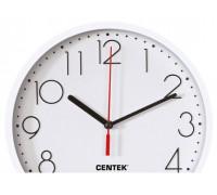 Часы настенные Centek СТ-7105 White