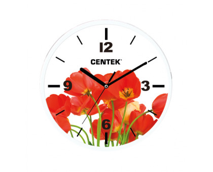 Часы настенные Centek СТ-7102 Tulips