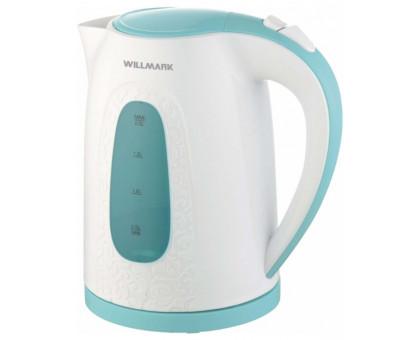Чайник Willmark WEK-2009P (Белый/голубой)