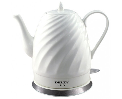 Чайник Delta LUX DL-1238 фарфор