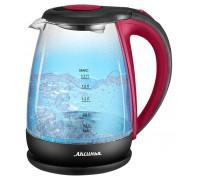 Чайник Аксинья КС-1040 красный/черный