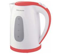 Чайник Willmark WEK-2009P (Белый/красный)