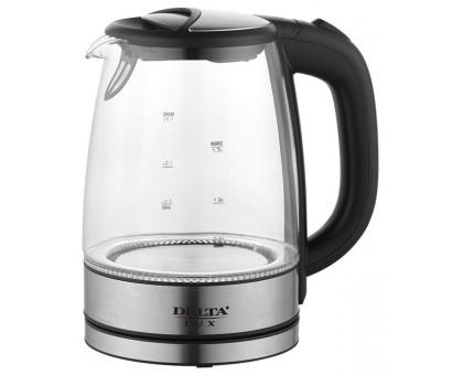 Чайник Delta LUX DL-1204В черный