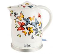 "Чайник Delta DL-1233A фарфор ""Бабочки"""