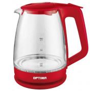 Чайник Optima EK-1718G Красный