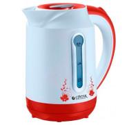Чайник Centek CT-1035 (белый/красный)