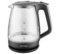Чайник Optima EK-1718G Серо-черный