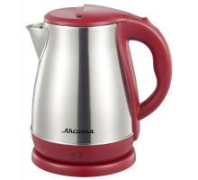 Чайник Аксинья КС-1050 бордовый