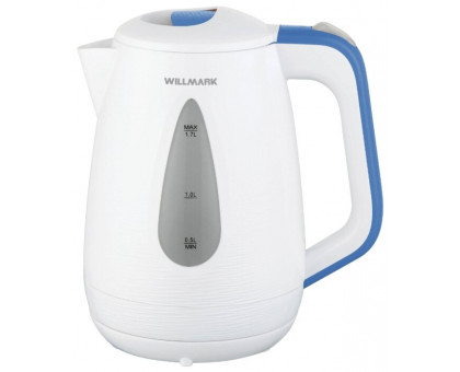 Чайник Willmark WEK-1807P (Белый/голубой)