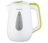 Чайник Willmark WEK-1807P (Белый/зеленый)
