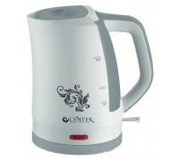 Чайник Centek CT-1061 (белый/серый)
