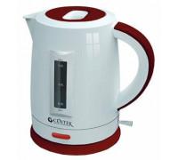 Чайник Centek CT-1063 (белый/красный)
