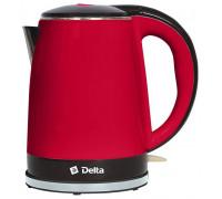 Чайник Delta DL-1370 красный/черный