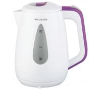 Чайник Willmark WEK-1807P (Белый/фиолетовый)