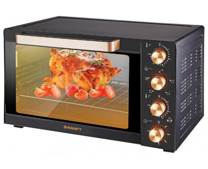 Мини-печь Kraft KF-MO 3504 KBGL черный/золото