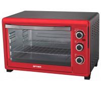 Духовка электрическая Optima 0-453 (Черно-красный)