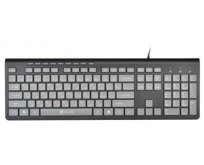 Клавиатура Oklick 480M Gray