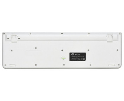 Клавиатура Oklick 400MR белый/розовый