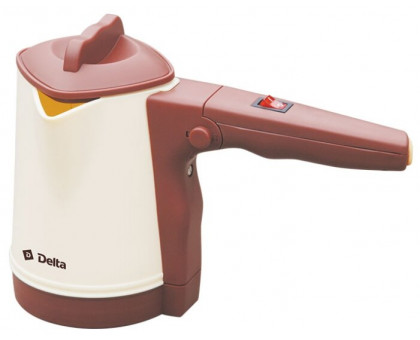 Электрокофеварка-турка Delta DL-8163 бежевая/коричневая