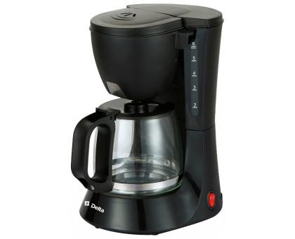 Кофеварка Delta DL-8153 черная