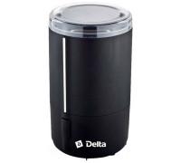 Кофемолка Delta DL-099K черная/серебро