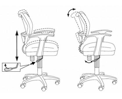 Кресло детское Бюрократ CH-W797/SD/TW-18