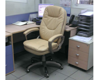 Кресло руководителя Бюрократ CH-BEIGE868YAXSN