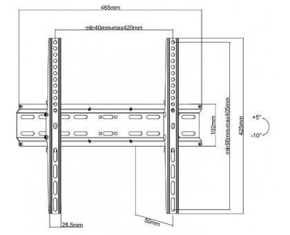 Кронштейн Ultramounts UM 833T