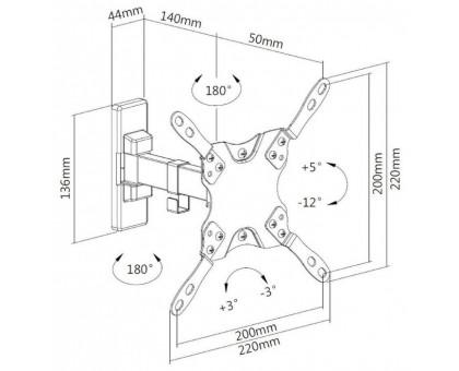 Кронштейн Ultramounts UM864W белый