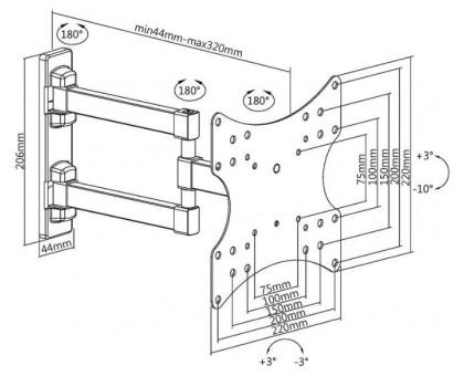 Кронштейн Ultramounts UM867