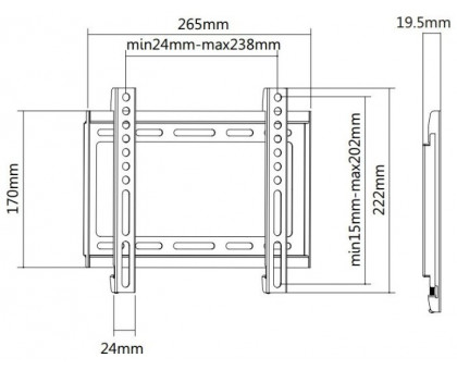 Кронштейн Ultramounts UM811F