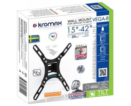 Кронштейн для телевизора Kromax VEGA-8 black