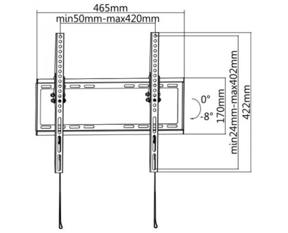 Кронштейн Ultramounts UM 832T
