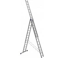 Лестница 3-х секционная алюминиевая Stairs AL314