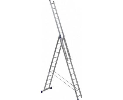 Лестница 3-х секционная алюминиевая Stairs ALP312