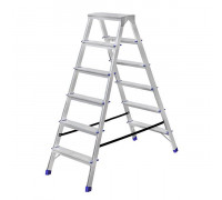 Стремянка алюминиевая двухсторонняя Stairs AS206