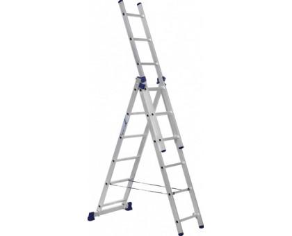 Лестница 3-х секционная алюминиевая Stairs AL306