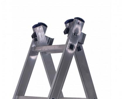 Лестница 2-х секционная алюминиевая Stairs AL208
