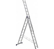 Лестница 3-х секционная алюминиевая Stairs AL310