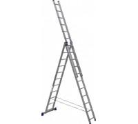 Лестница 3-х секционная алюминиевая Stairs AL311