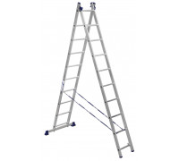 Лестница 2-х секционная алюминиевая Stairs AL210