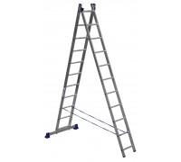 Лестница 2-х секционная алюминиевая Stairs AL211