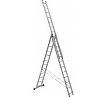 Лестница 3-х секционная алюминиевая Stairs AL312