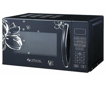 Микроволновая печь Centek CT-1579 (черный, ЦВЕТЫ)