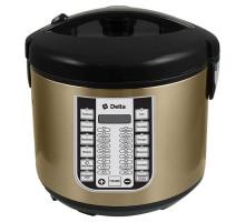 Мультиварка Delta DL-6518 бронза