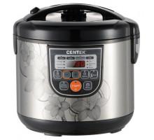 Мультиварка Centek CT-1498 Ceramic (чёрный, сталь)
