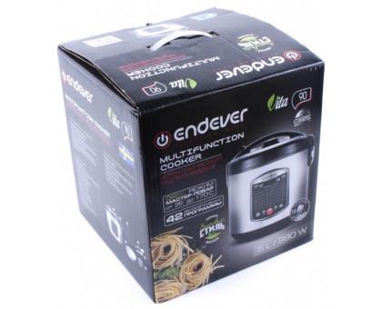 Мультиварка Endever Vita-90 черный/сталь