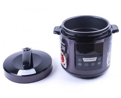 Мультиварка Endever Vita-98 черно/сливовый